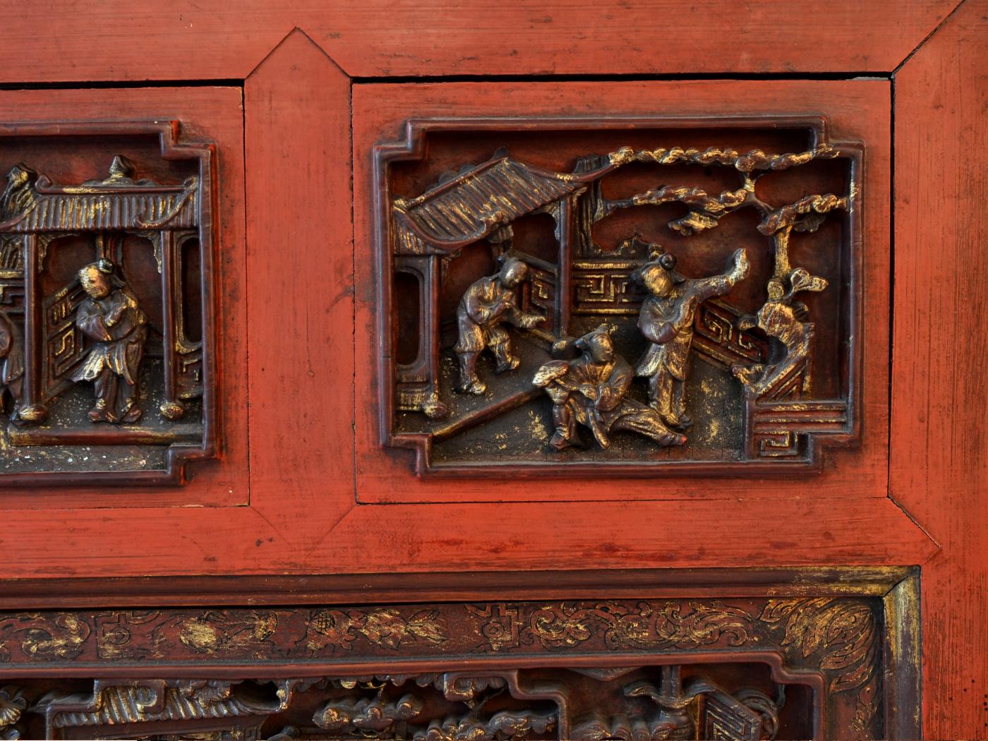 Panou chinezesc sec XVIII