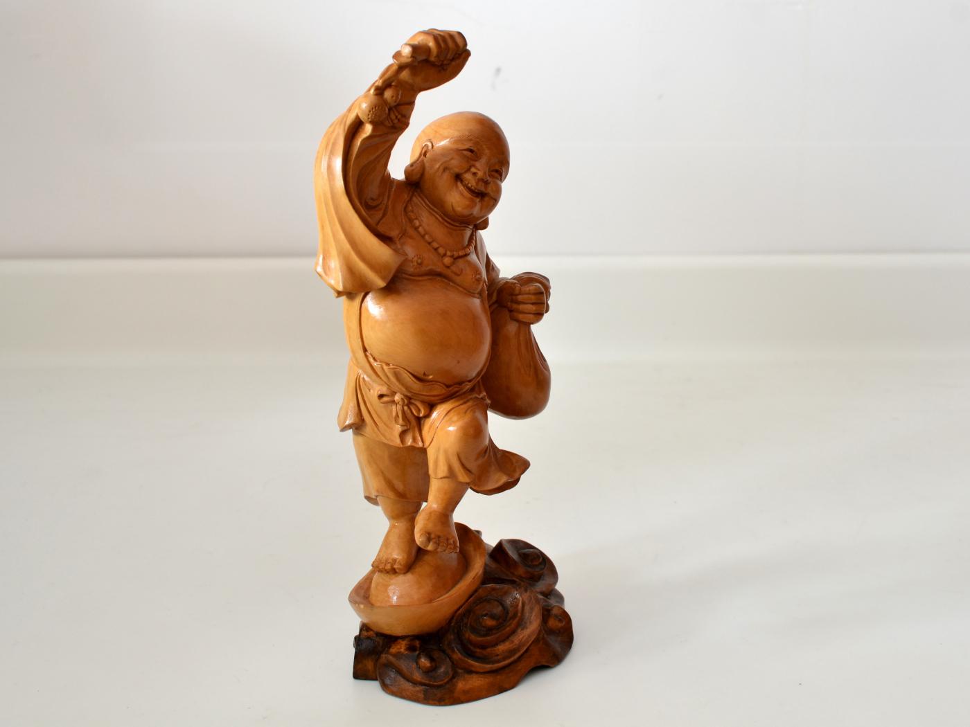 Statueta din lemn suar Buddha
