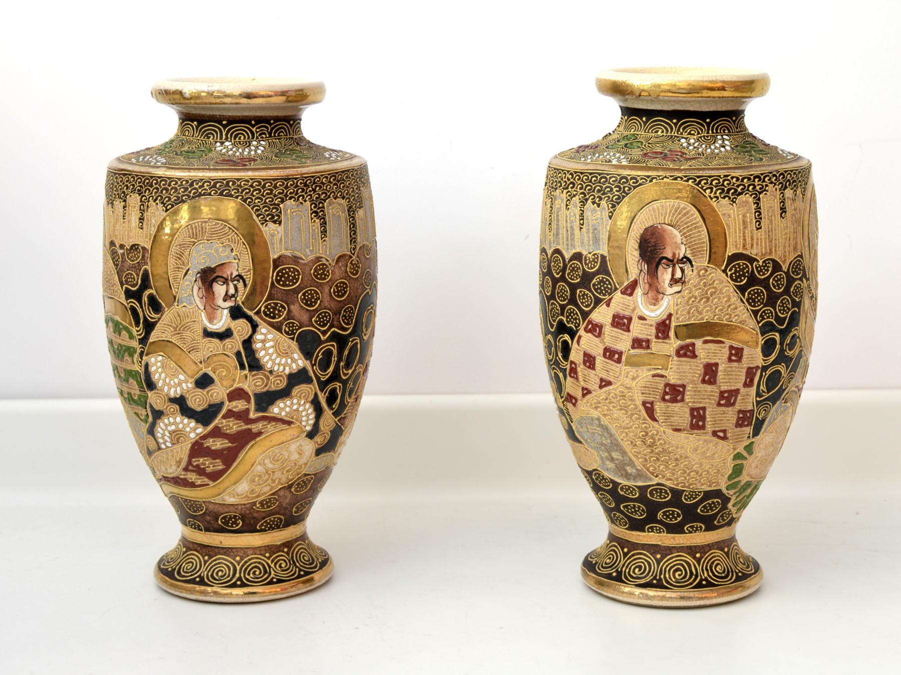 Set vaze japoneze Satsuma