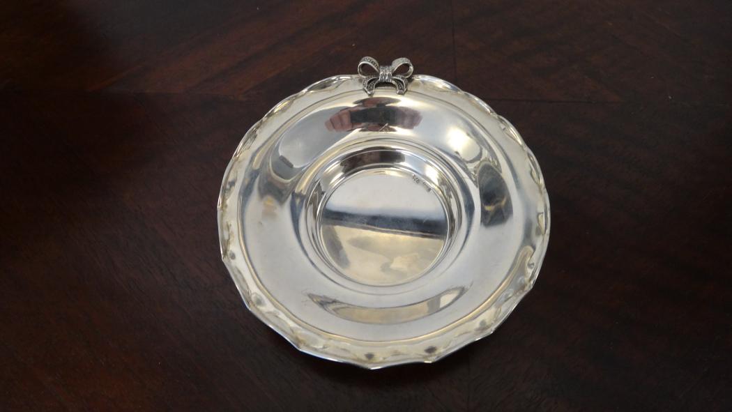 Farfurioara de argint marcaj 925 , 46g.