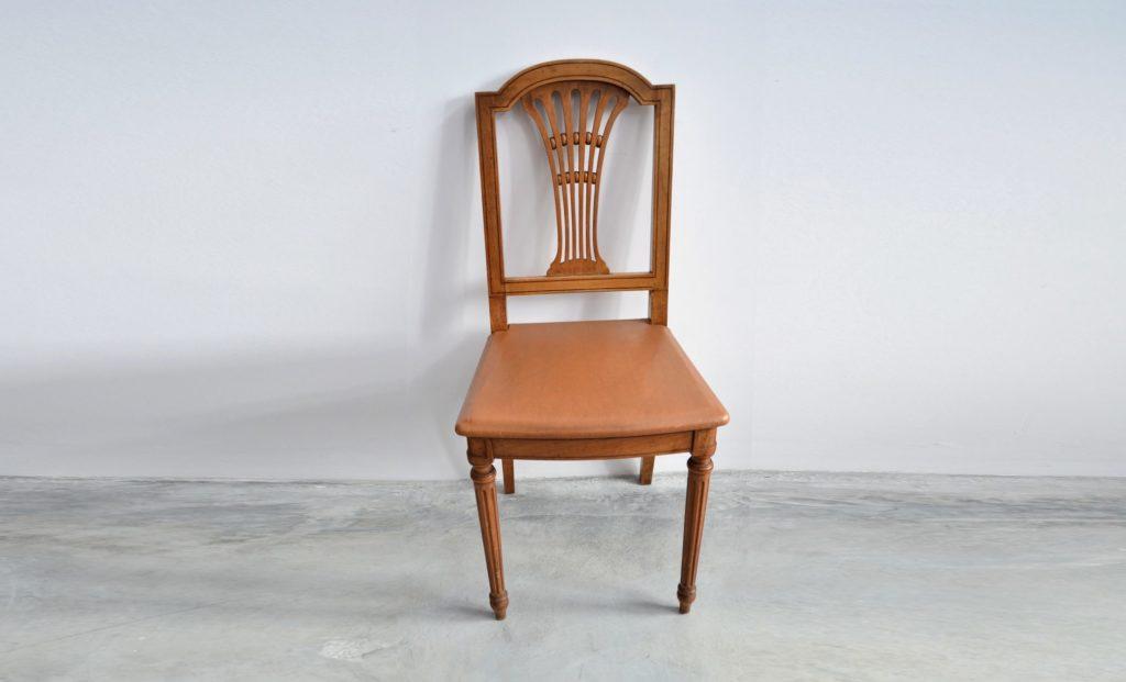 Set 6 scaune stil Louis al XVI-lea