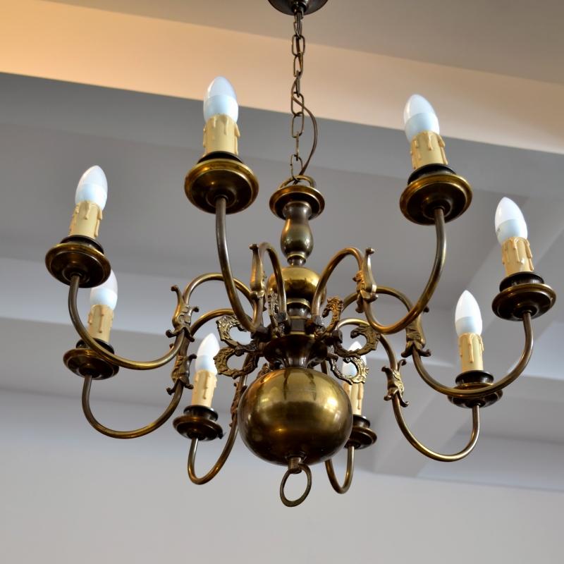 candelabru mare cu corp din bronz masiv magazin antichitati bucuresti online anticariat. Black Bedroom Furniture Sets. Home Design Ideas