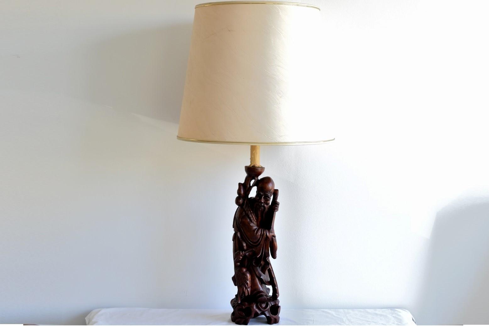 lampa chinezeasca lemn 1