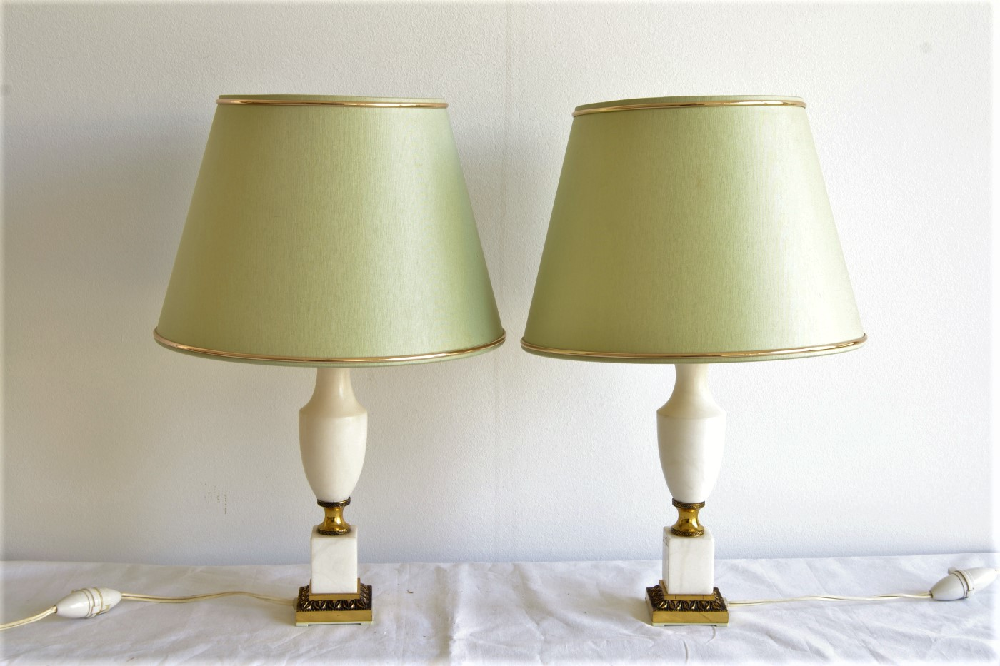 lampa marmura bronz 1