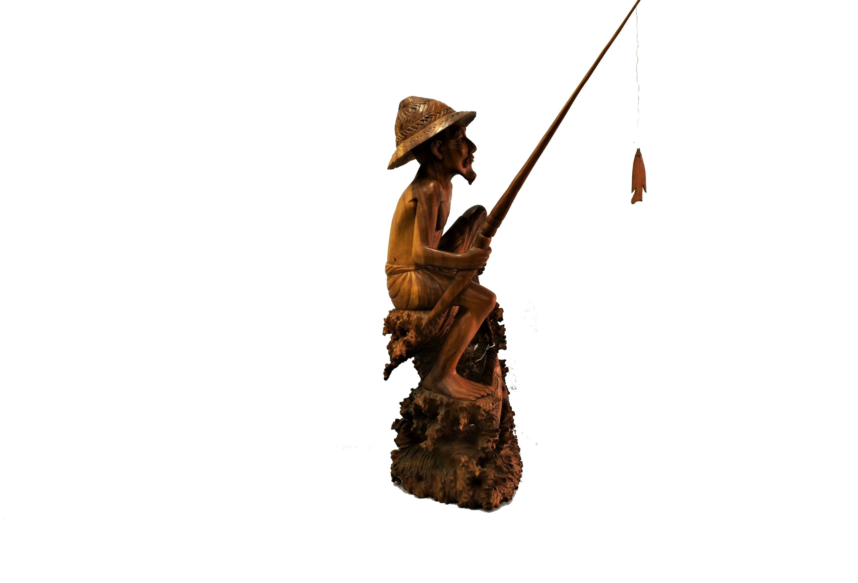 Sculptura in lemn exotic