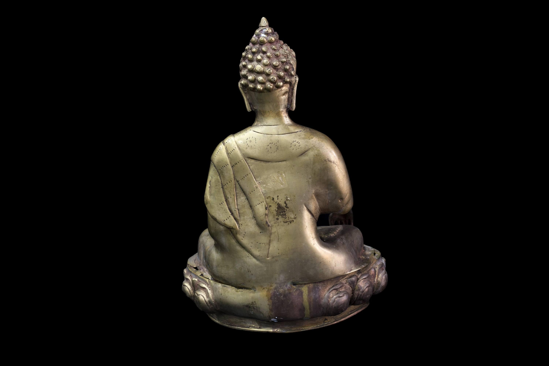 Statueta Buddha din bronz