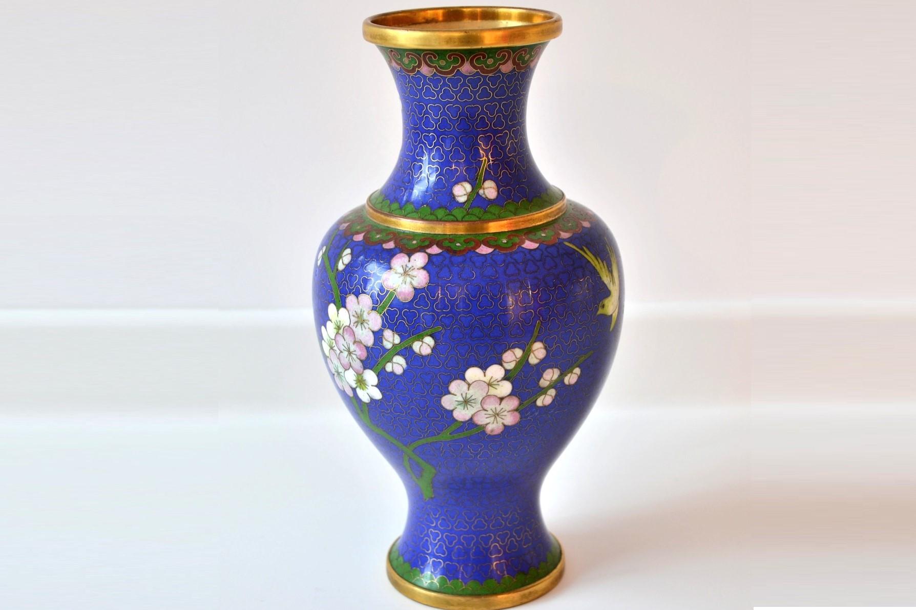 vaza cloisonne 111
