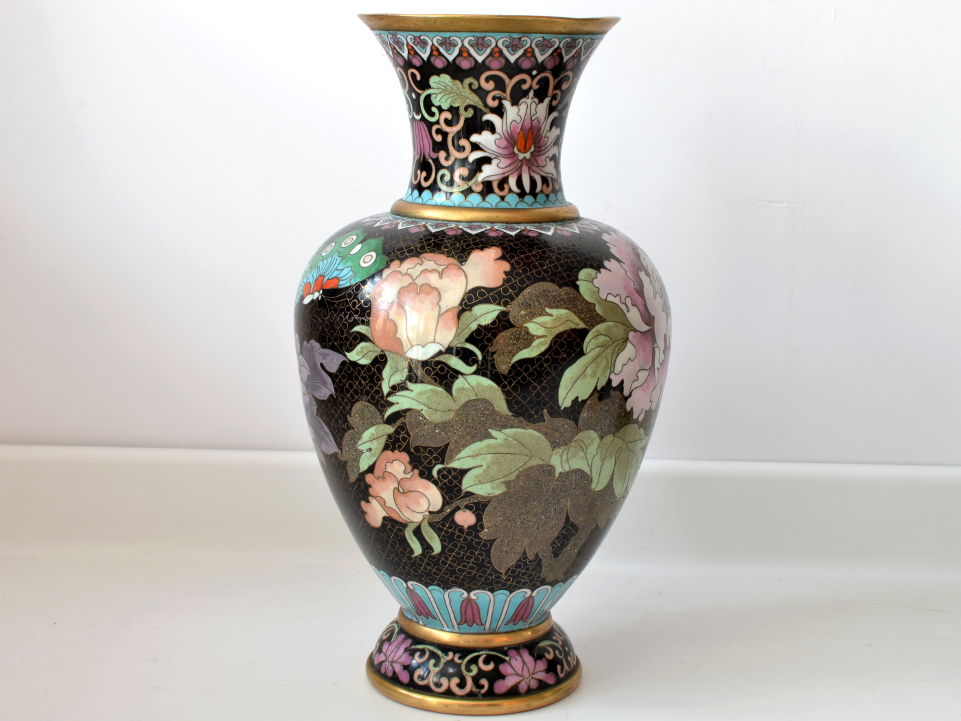 vaza cloisonne bujori 4