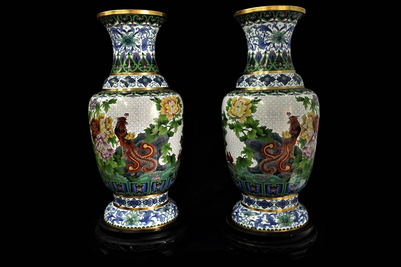 vaze cloisonne mari 2