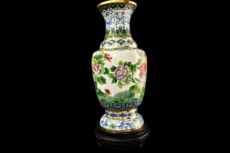 vaze cloisonne mari 7