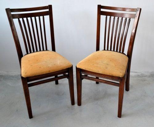 Set 2 scaune stejar