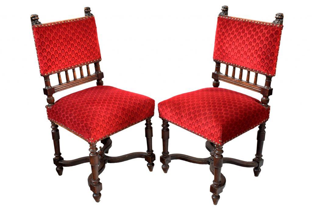 Set 2 scaune din stejar masiv