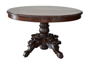 Masa din lemn de stejar stil Louis al XIII lea