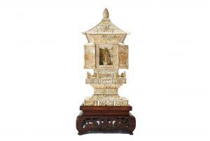 Pagoda chinezeasca din fildes si os