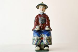 Figurina din portelan chinezesc, Famille Rose
