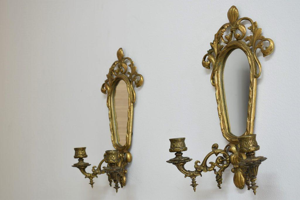 Set doua aplice cu oglinda