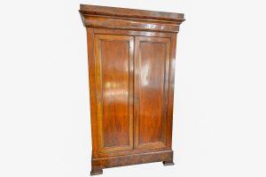 Dulap stil Louis Philippe din lemn de nuc