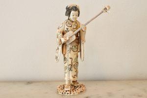 Statueta din fildes perioada Meiji
