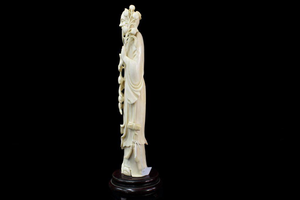 Statueta din fildes nemuritorul Li Tien Huai