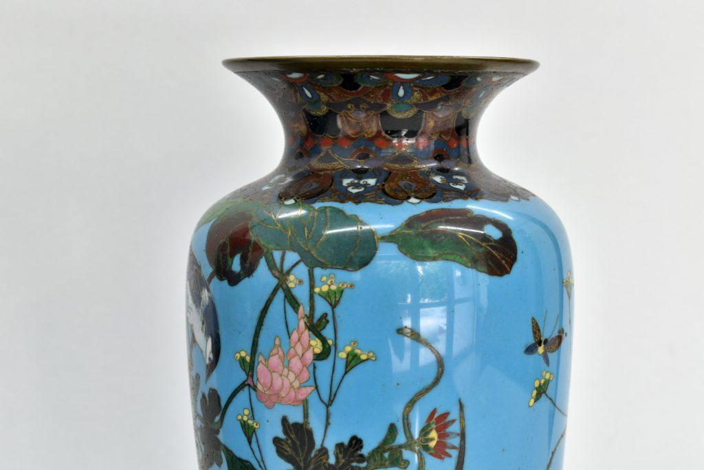 Set 2 vaze Cloisonne japoneze