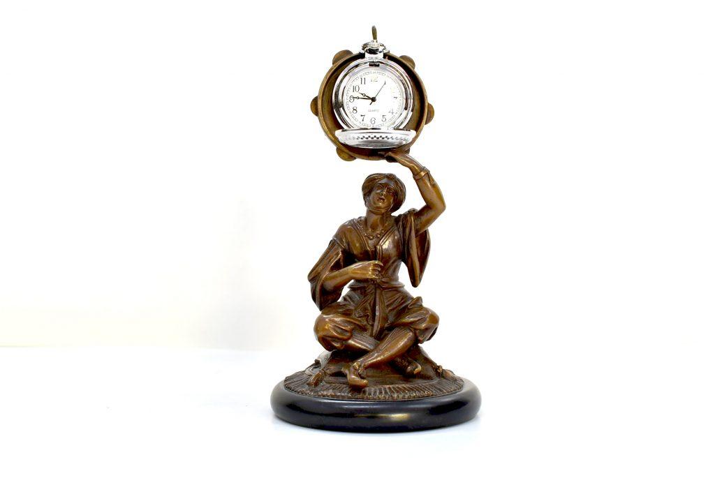 Statueta suport ceas de buzunar