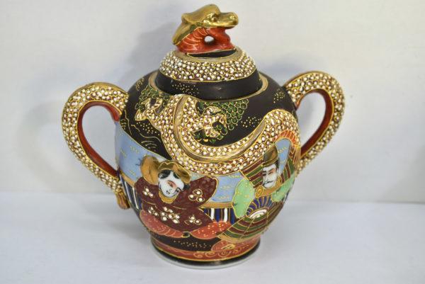 Serviciu chinezesc de ceai din portelan