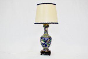 Lampa cu corp din Cloisonne