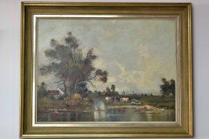 Tablou ulei pe panza Klaus Richter 1887 - 1948