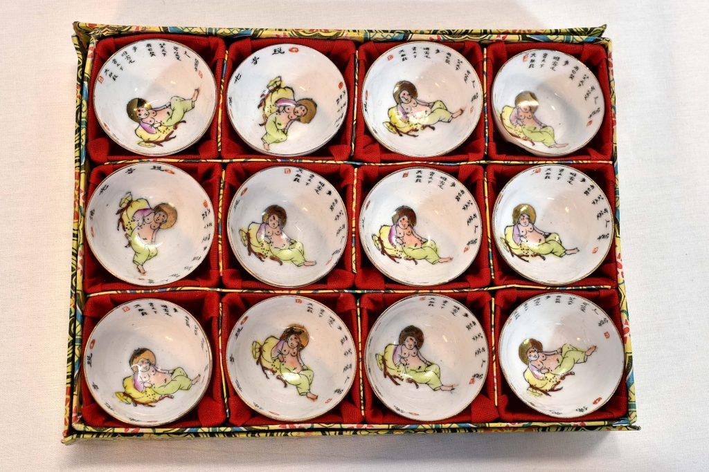 Set 12 vase chinezesti