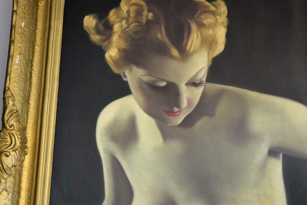 "Tablou ""Nud"" Ion Statescu (1892-1968)"