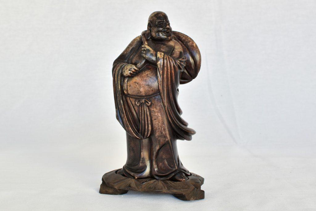 Statueta Buddha cu sacul de fapte bune