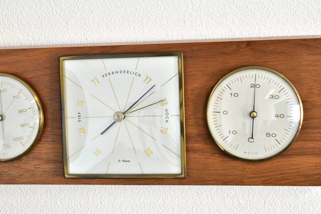 Barometru, termometru si umidometru