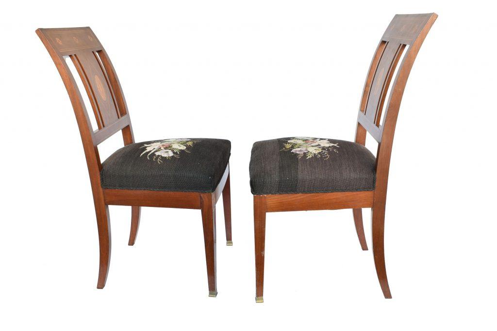 Set 2 scaune Biedermeier