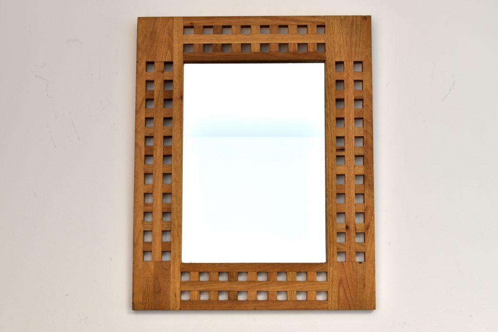 Oglinda rama lemn stejar