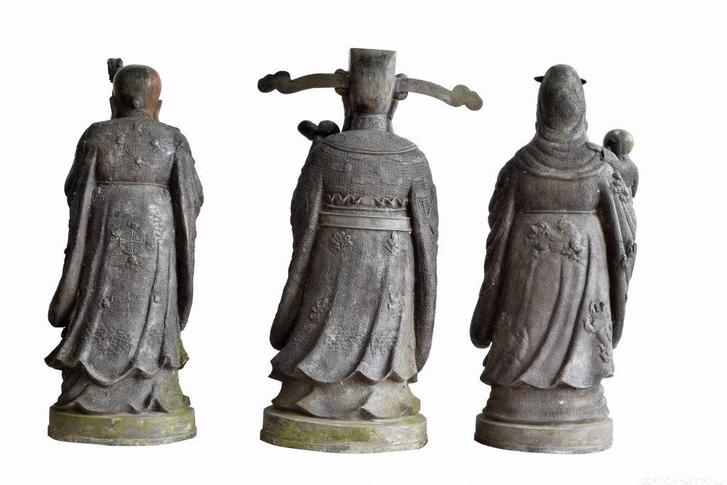 3 statui Fu Lu Shou