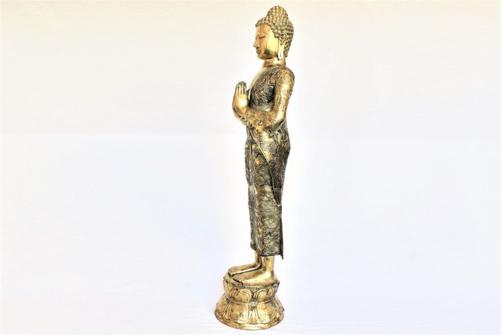 Buddha din bronz