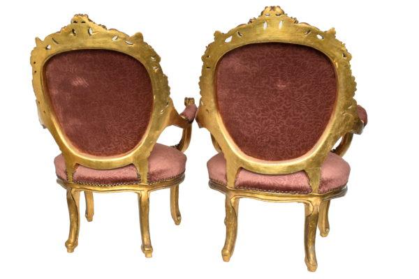 Set 2 fotolii stil baroc