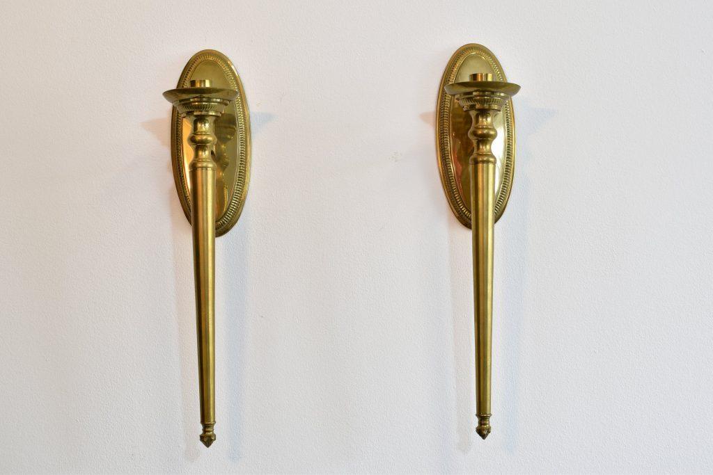 Set aplice empire din bronz