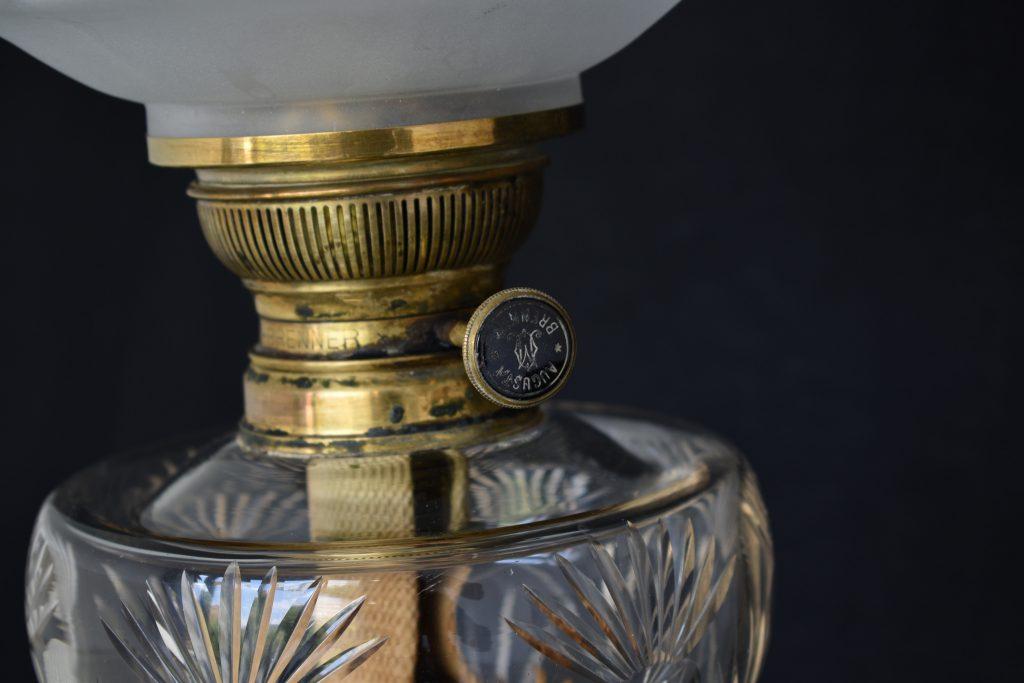 Lampa pe gaz Augusta Brenner