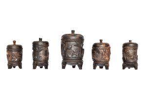 Set 5 casete africane