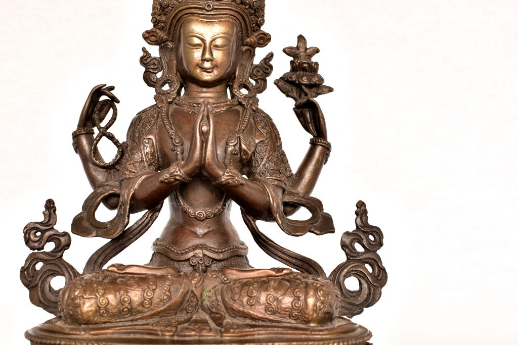 Statueta bronz
