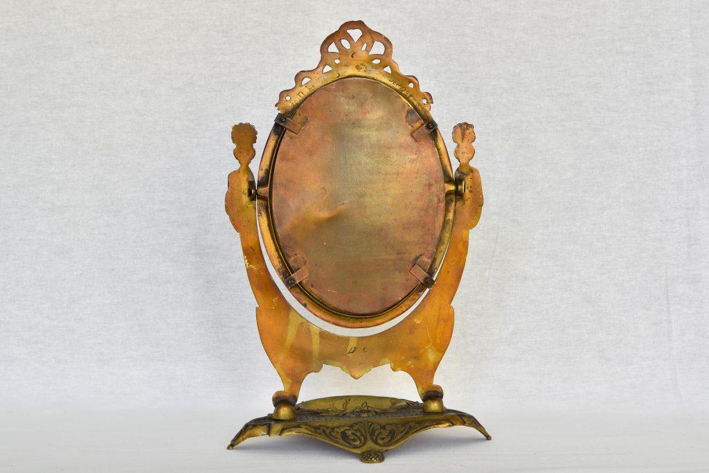 Oglinda baroc cu suport