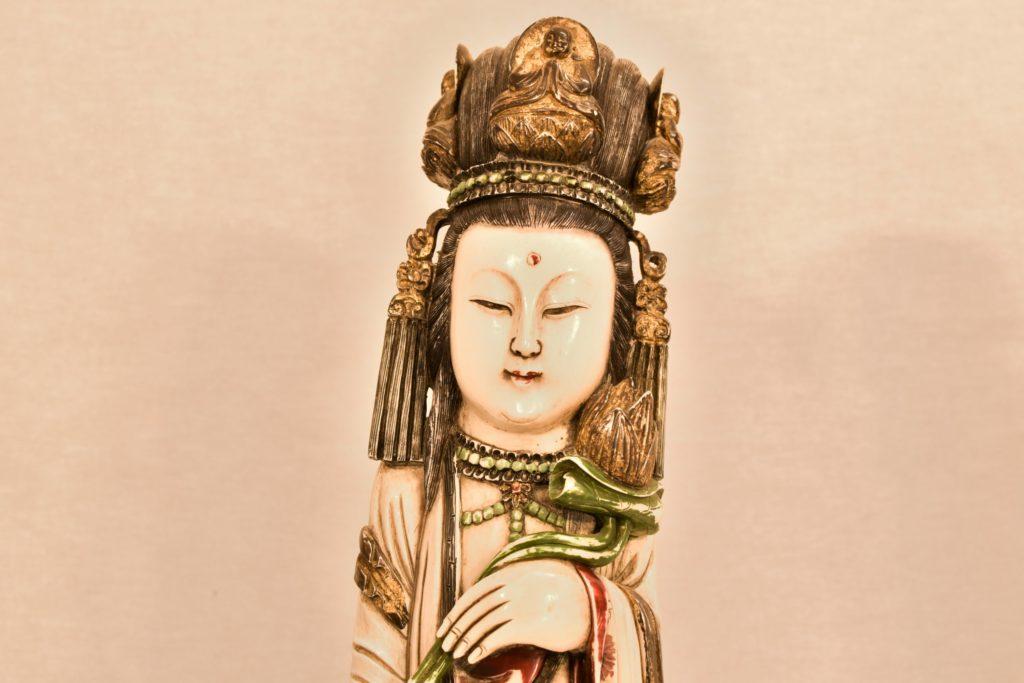 Pereche de statuete din fildes
