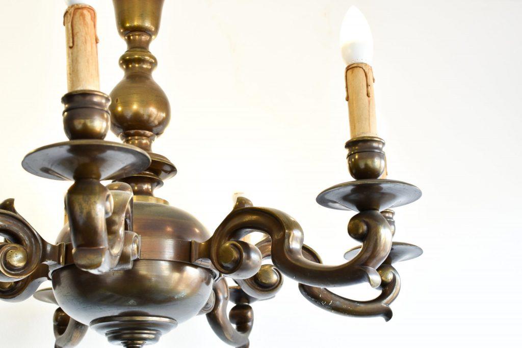 Candelabru bronz