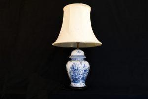 Lampa mare chinezeasca din portelan