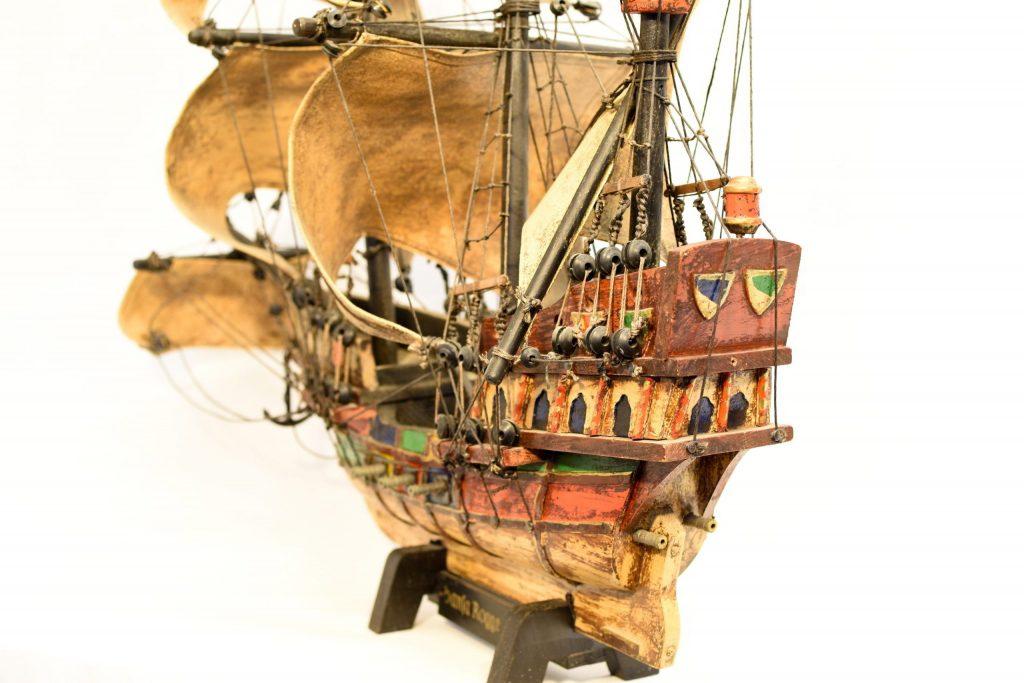 Macheta corabie Santa Rogge 1600