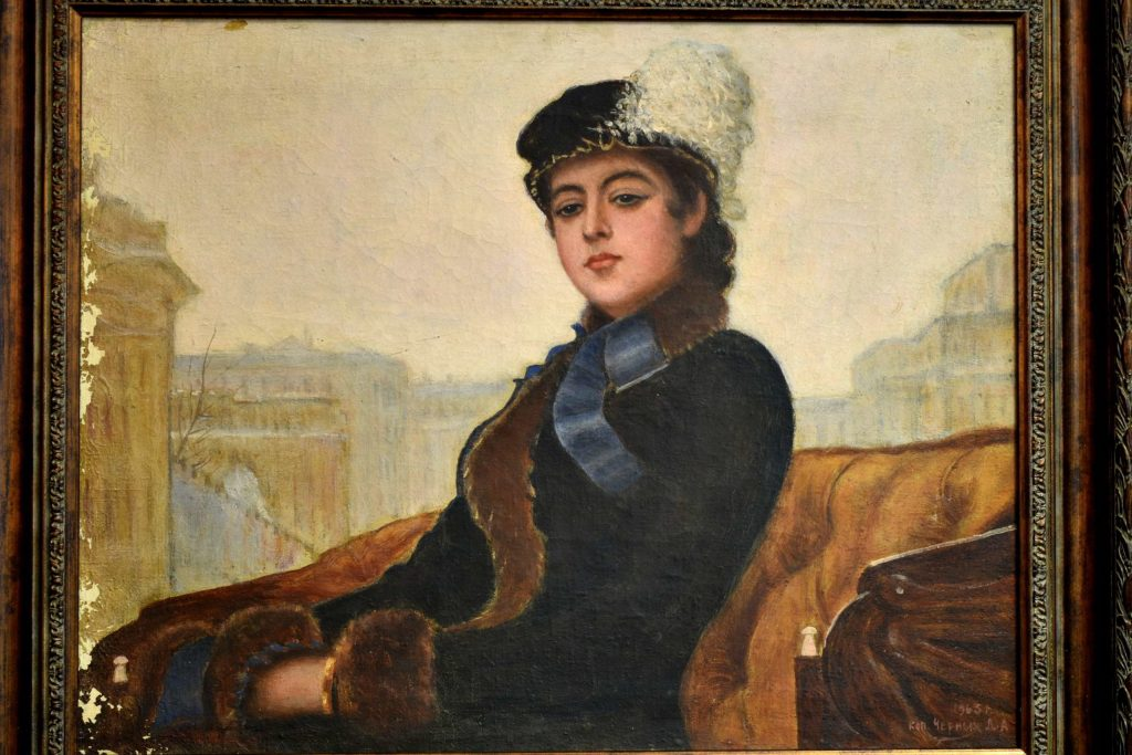 Tablou dupa Ivan Nikolaevich Kramskoi