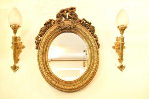 Oglinda din cristal stil baroc