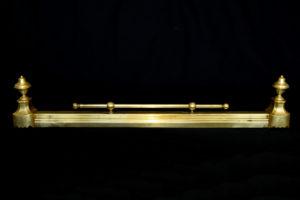 Ornament pentru semineu din bronz