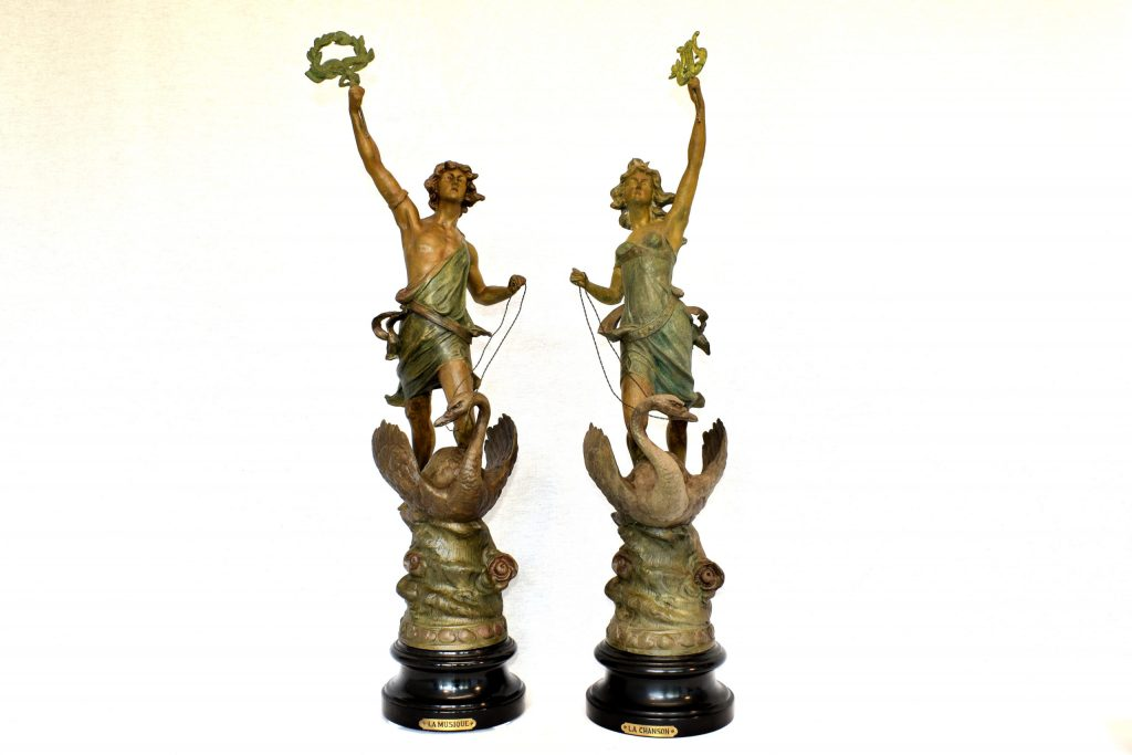 Statuete de Albert-Ernest Carrier de Belleuse
